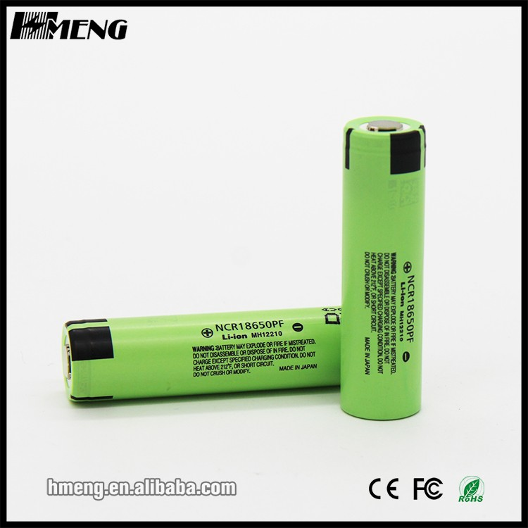 Authentic and new!!!! NCR18650PF battery li-ion rechargeable 3.7V 18650PF 2900mah lithium ion battery 18650