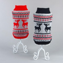 RoblionPet Pet clothes Christmas Reindeer sweater Dog Clothing Sweaters Cool Puppy Sweaters