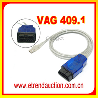 Newest USB Cable VAG 409.1 For VW For AUDI OBD OBDII OBD2 Tool OBD Cable