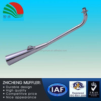 Wholesale Automotive Univers Exhaust Muffler with Flange Parts 480c Drilling Leopard Prince
