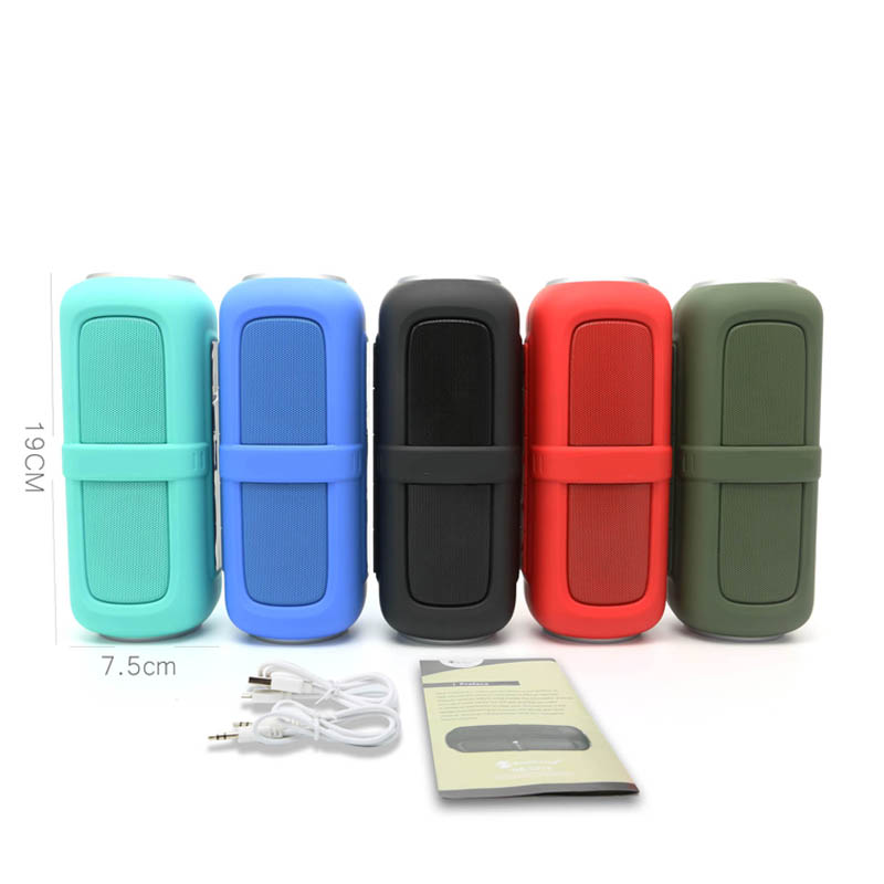 shenzhen gadgets music mini blue tooth speaker with 1200mAh capacity