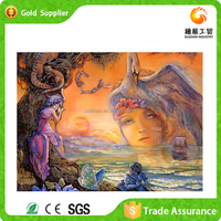 2016 Newest Wall Decoration China Packing Artwork