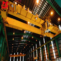 model double girder motor-driven overhead crane