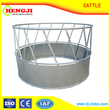 High quality livestock feeder galvanized hay bale cattle feeder