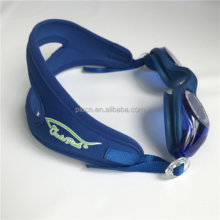 blue Private label with customized logo or with multiple styles swimming glass swim sport goggle with preferred packing case