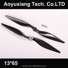 Carbon fiber toy plane propeller for rc airplane with high quality