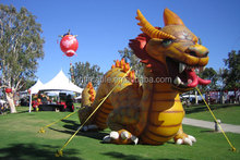 Giant inflatable Chinese dragon balloon