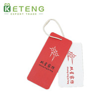 New Arriving Custom Red Shoes Hang Tag Wholesale