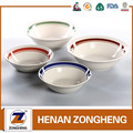 Hot selling ceramic glazed stocked stoneware bowl wholesale