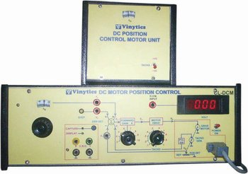 DC MOTOR POSITION CONTROL Teaching Equipments
