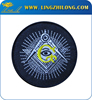 Custom wholesales masonic item free mason fabric eye patch embroidery