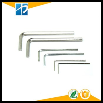 M8*40*100 45# steel flat head hex allen wrench