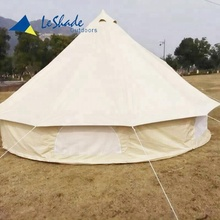 5M big camping equipment luxury mongolian yurt tent