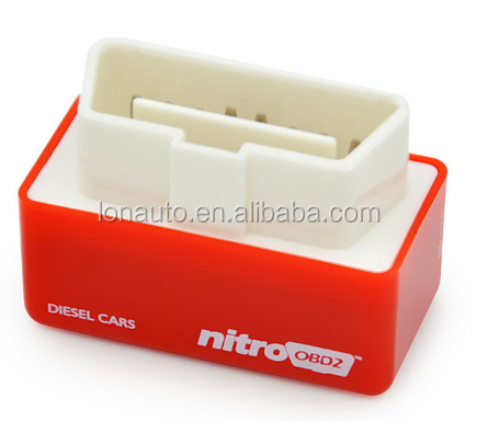 Hot Sale Nitro OBD2 Chip Tuning Box for Diesel Cars Plug and Drive OBD 2 More Power / More Torque NitroOBD2 Interface