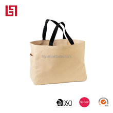 fashion style customize design canvas shopping bags