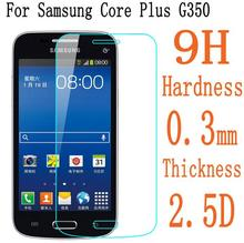 2.5D 0.3mm Premium Tempered Glass For Samsung Galaxy Core Plus G350 G3502 Screen Protector Protective Film Guard
