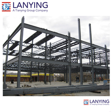 low cost good designed complete commercial steel structure warehouse