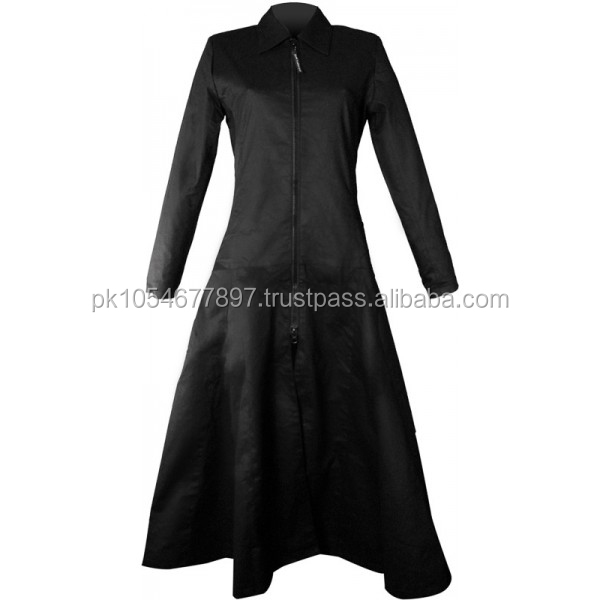 Venus Decomposing Zipper Gothic Coat