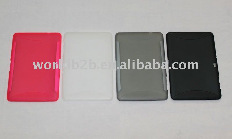 TPU protective case for samsung galaxy tab 10.1 P7500