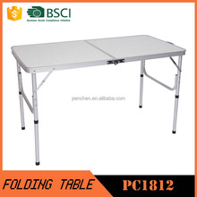4ft Outdoor rectangle aluminum camping table