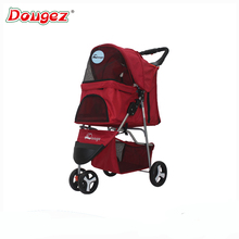 Newly Design pet trolleys Cat / Dog Easy Walk Folding Travel Carrier Carriage Pet Stroller