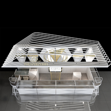 Factory Price Watch Display Showcase Shop Design Small Jewelry Kiosk