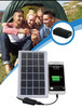 Fabulous! solar power usb charger solar cellphone charger for hiking camping and traveling etc