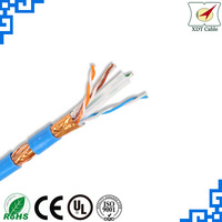 Fire protection 305m SFTP cat6 ethernet cable