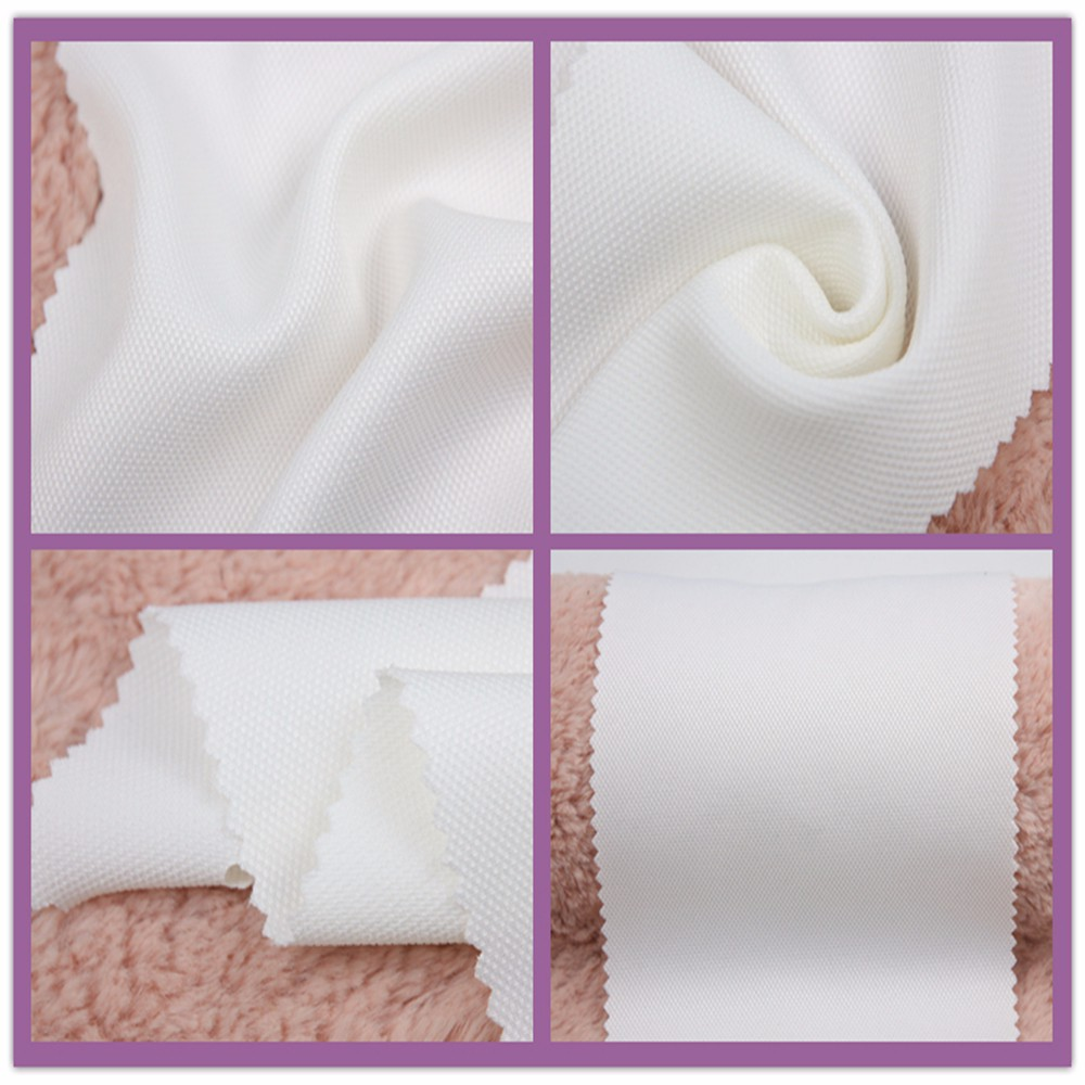 plain dyed faux silk white drapery heavy dobby fabric
