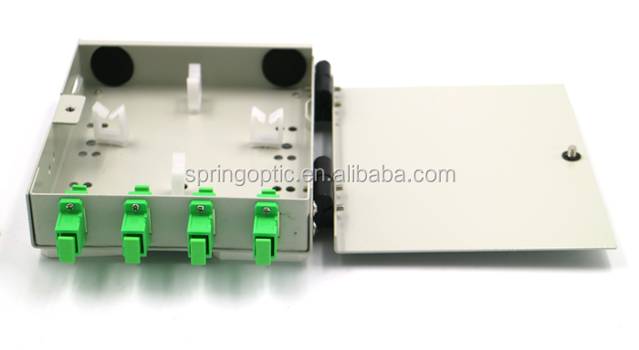 FTTH passive FTB104A wall mount fiber optic terminal box