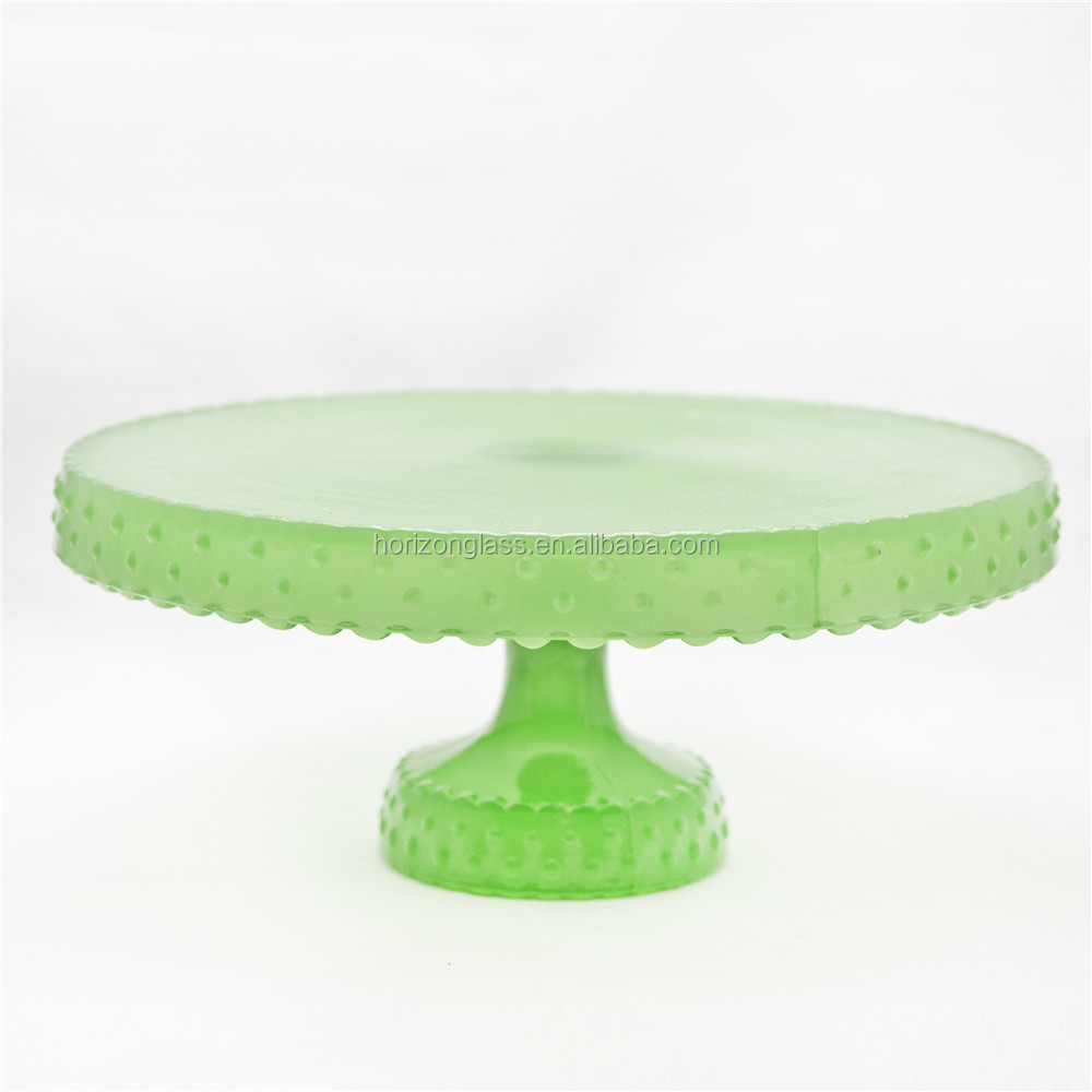 wholesale glass cake stand/wedding cake stand crystal/wedding cake stand