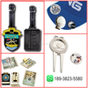 Hot selling zinc alloy golf hat clip with ball marker with low price