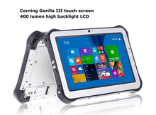 New Product 10 inch IPS screen 1920*1200 RAM 2GB ROM 32GB OS android W8.1 quad core wifi GPS NFC ip65 rugged tablet computer