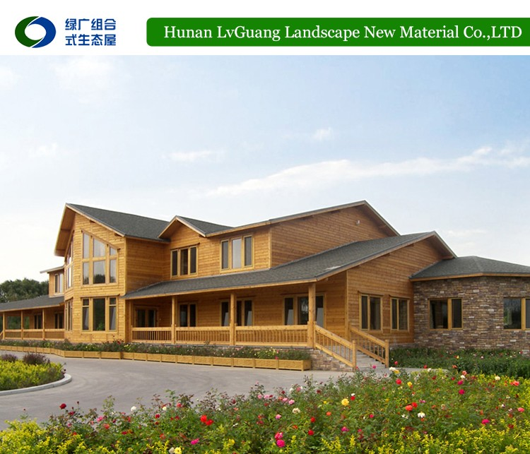 Different Economical wood china house prefabricated