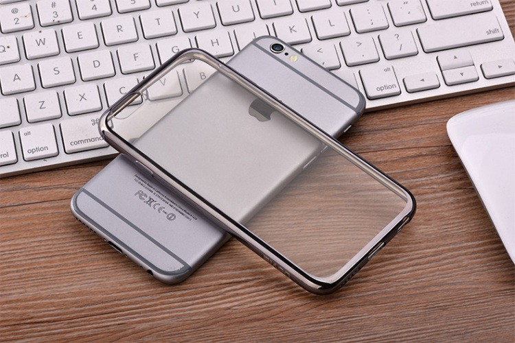 Preminum Bling Electroplating soft TPU mobile phone cover case for iPhone 7,For Iphone 7 Plus electroplating tpu case