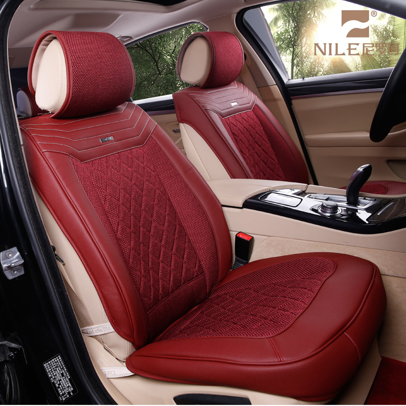Full set type car seat cover leather car seat covers fit most brand car