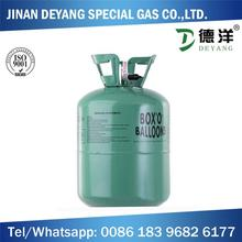 pure helium filled helium tank for sale for inflatable helium balloon
