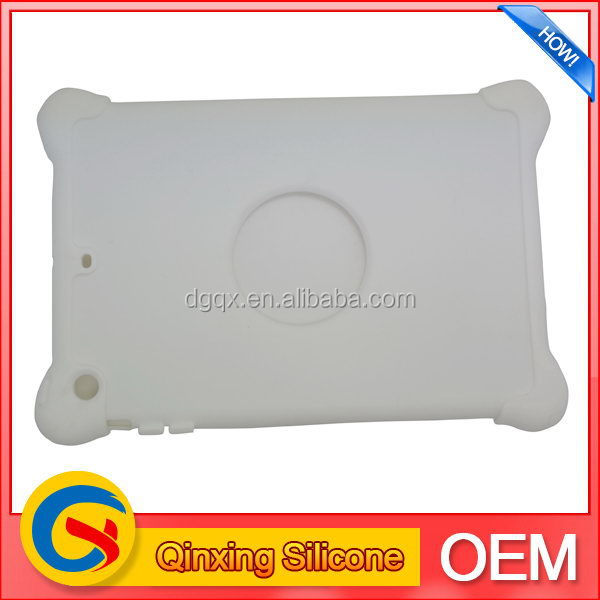 Top grade export bumper silicone case for tablet pc