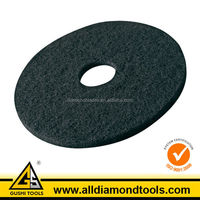 Black Color Abrasive Buffing Sponge Polishing Pad for Concrete Floor