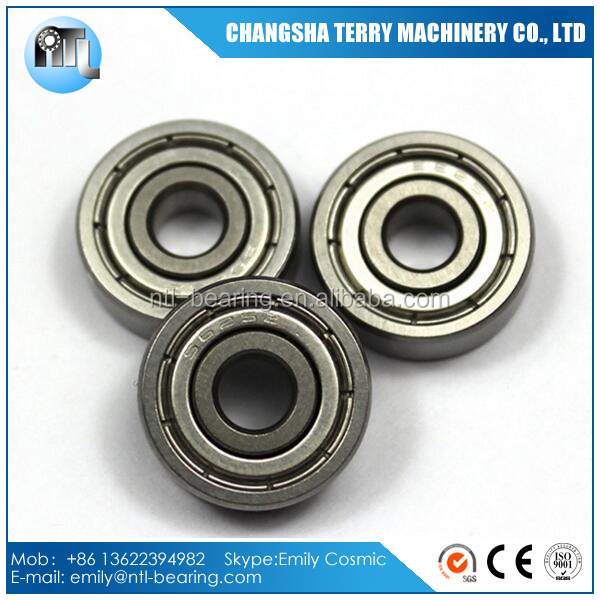 625ZZ 5x16x5mm Miniature Metal Shielded Deep Groove Ball Bearing