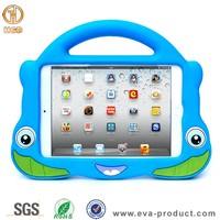 Cute eva foam kids shockproof tablet case for ipad mini minion case