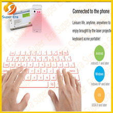 2014 NEWEST laser keyboard for ipad IOS Android mobile phone for macbook for ipad 1 2 3 4 air mini 2---SUPER ERA