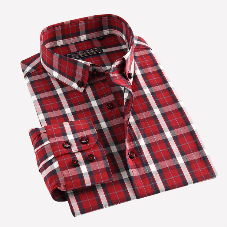 100%cotton density 90*70 red and black checks fabric for shirts and shirts checks