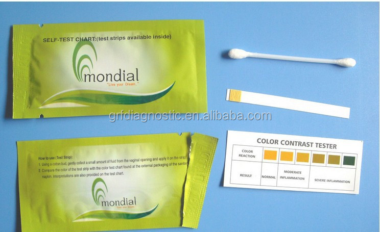 Vaginal Ph Test Strip/vagina Bacterial Infection Test With ...