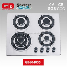 Home appliance free standing gas stove with oven/stainless steel appliance for cooking range