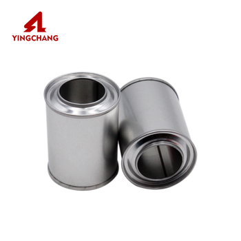 Factory wholesale metal glue tin can empty tinplate cans chemical paint can