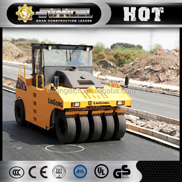 New Liugong CLG626RII asphalt rumble Tire  26 ton used road roller for sale