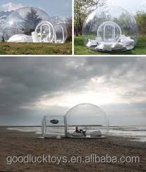 outdoor lawn buble tent /inflatable bubble tent