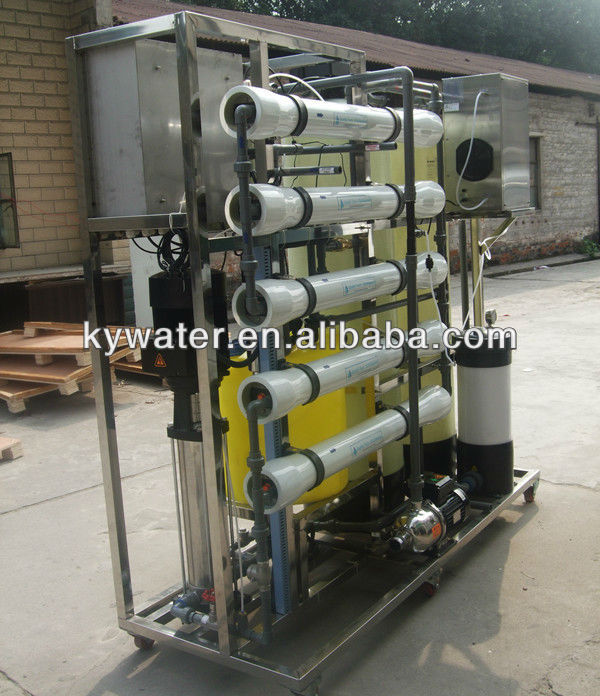 Factory hot sale CE certification 1000L/H ro water purifier machine cost