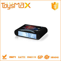 2015 New Design Printing Flip Retro Travel Alarm Clock